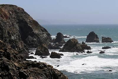 View From Bodega Head In Bodega Bay Ca - 4 Poster