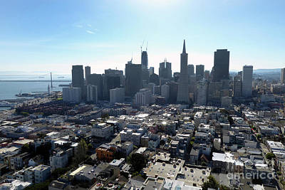 View From Coit Tower Poster