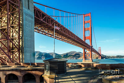 View From Fort Point Poster by Jerry Fornarotto
