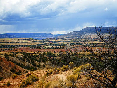 Poster featuring the photograph View From Ghost Ranch, Nm by Kurt Van Wagner