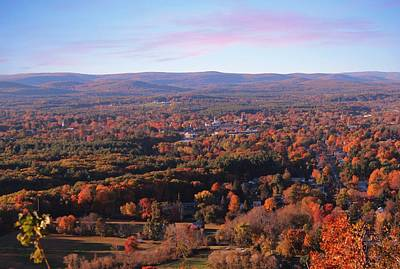 View From Mount Tom In Easthampton, Ma Poster