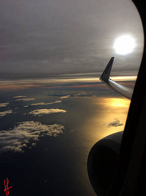 View From Plane  Poster