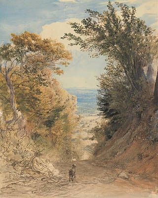 View From Rook's Hill, Kent Poster by Samuel Palmer