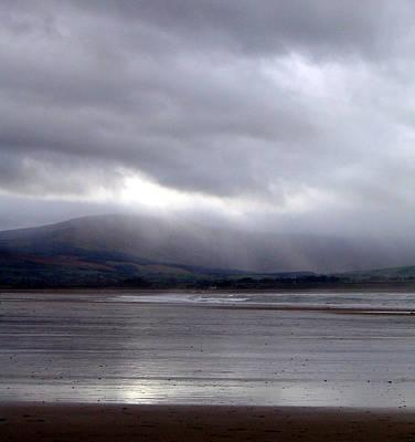View From Strandhill Beachsligo Ireland Poster by Amy Williams