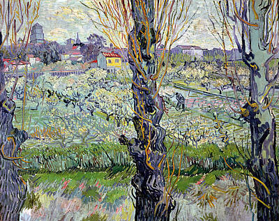 View Of Arles Poster by Vincent Van Gogh