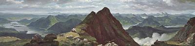 View Of Loch Lomond Poster by John Knox