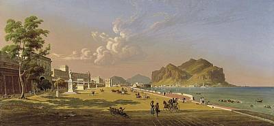 View Of Palermo - Salmon, Robert Poster by Celestial Images