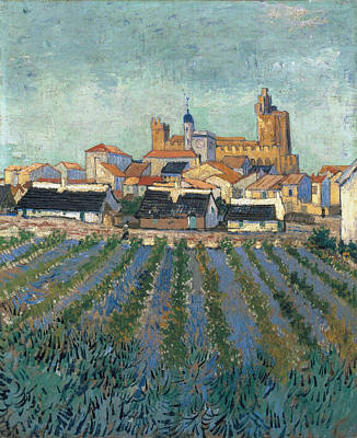 View Of Saintes-maries, 1888 Poster by Vincent Van Gogh