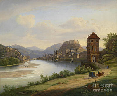 View Of Salzburg Poster by Celestial Images