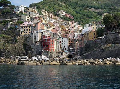 View Of The Riomaggiore, La Spezia Poster