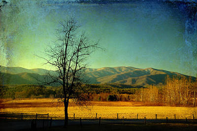 View Of The Smokies Poster by Mike Eingle