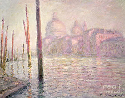 View Of Venice Poster by Claude Monet