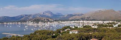 View Over Port De Pollenca To Serra De Poster