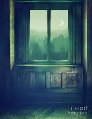 View Through Window Poster by Mythja Photography