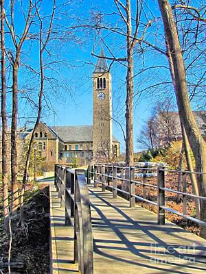 View To Mcgraw Tower Poster