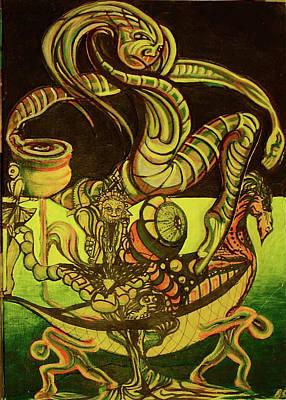 Viking Poster by Ben Christianson