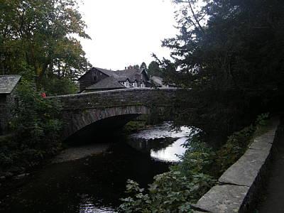 Village Bridge Poster