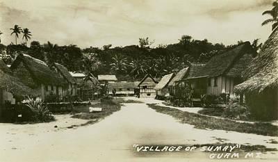 Village Of Sumay Guam Poster