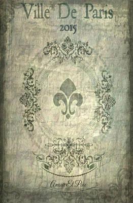 Ville De Paris Poster