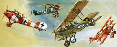 Vintage Aircraft Poster