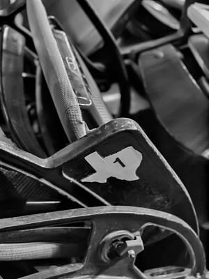 Vintage Baseball Chairs Poster