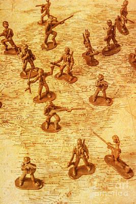 Vintage Battlefront Poster