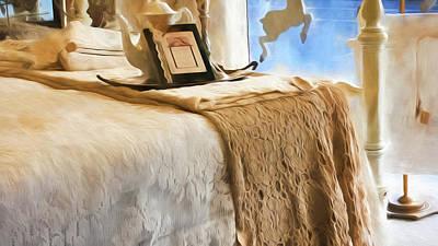 Vintage Bed Poster