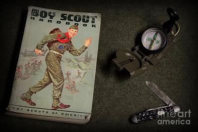 Vintage Boy Scouts Poster