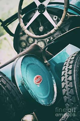Vintage Bugatti T23 Poster by Tim Gainey