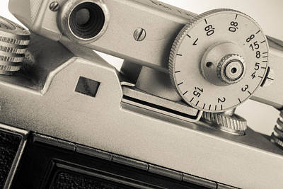 Vintage Camera -3 Poster by Rudy Umans