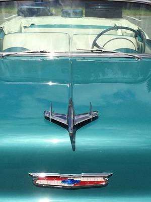Vintage Chevy Poster by Robin Regan