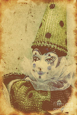 Vintage Circus Postcard Poster