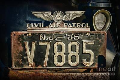 Vintage Civil Air Patrol Badge Poster
