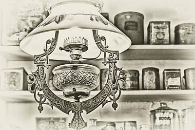 Vintage Country Store-lighting Poster by Regina Geoghan