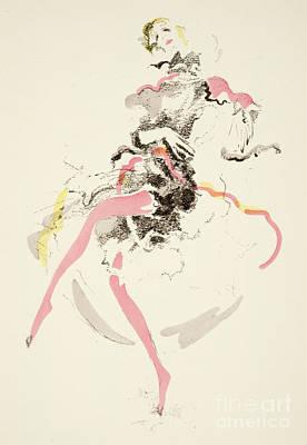 Vintage Fashion Plate Twenties Dancer Poster
