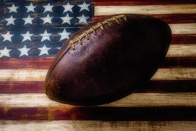Vintage Football Poster