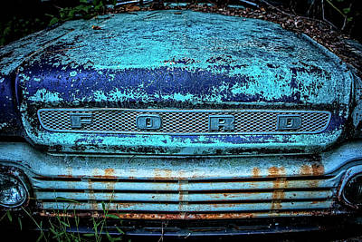 Vintage Ford Pick Up Poster
