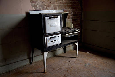 Vintage Gas Stove Poster