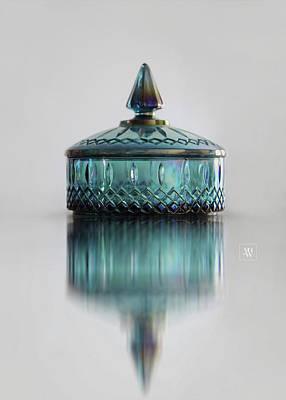 Vintage Glass Candy Jar Poster