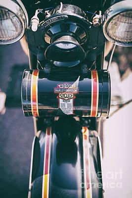 Vintage Harley Davidson Tool Box Poster by Tim Gainey