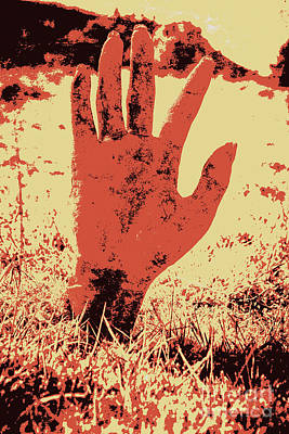Vintage Horror Poster Art  Poster