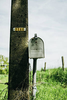 Vintage Mailbox Poster by Pati Photography