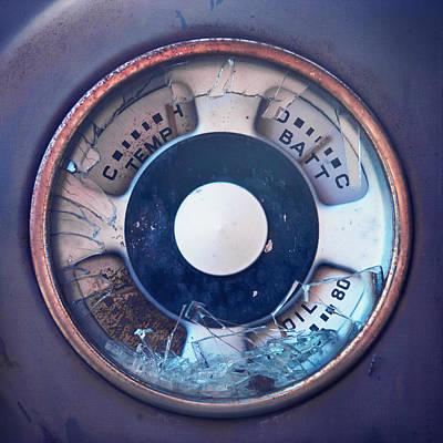 Vintage Oil Indicator Poster