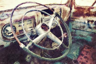 Vintage Pickup Truck Poster by Phil Perkins