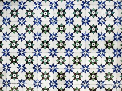 Vintage Portuguese Tiles Poster