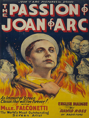 Vintage Poster - Joan Of Arc Poster by Vintage Images