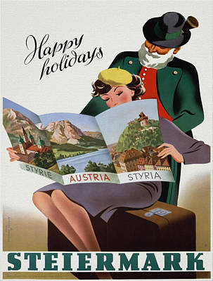 Vintage Poster - Steiermark Poster
