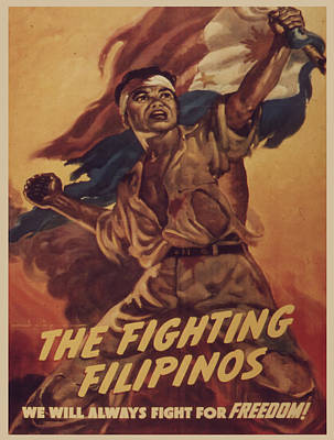 Vintage Poster - The Fighting Filipinos Poster by Vintage Images