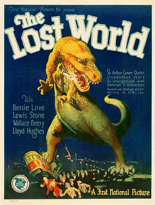 Vintage Poster - The Lost World Poster by Vintage Images