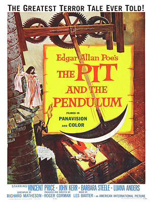 Vintage Poster - The Pit And The Pendulum Poster by Vintage Images